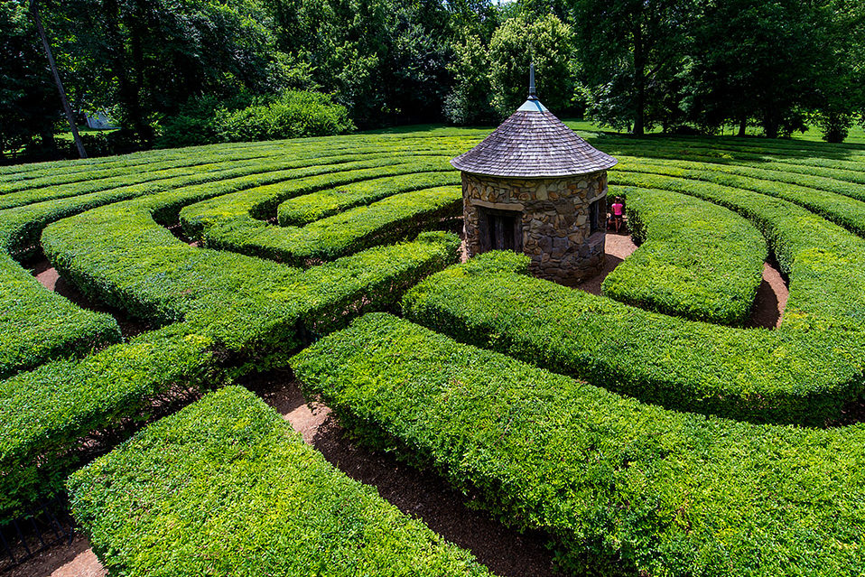 Labyrinth at New Harmony