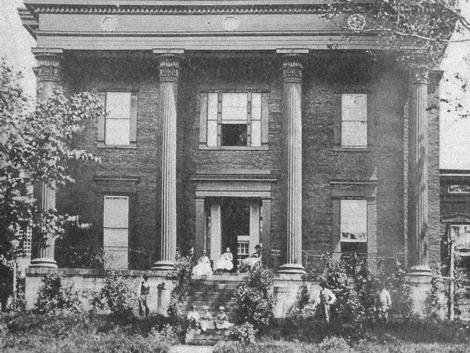 Old Lanier Mansion Photo