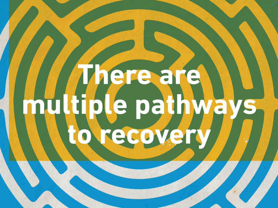 There are multiple pathways to recovery