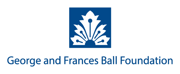 George and Frances Ball Foundation Logo