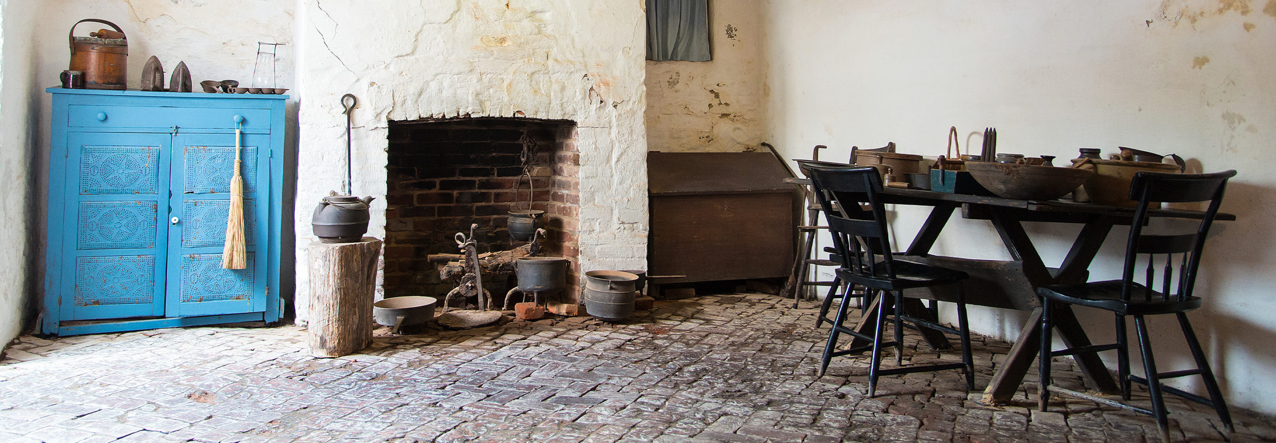 Kitchen at Coffin House