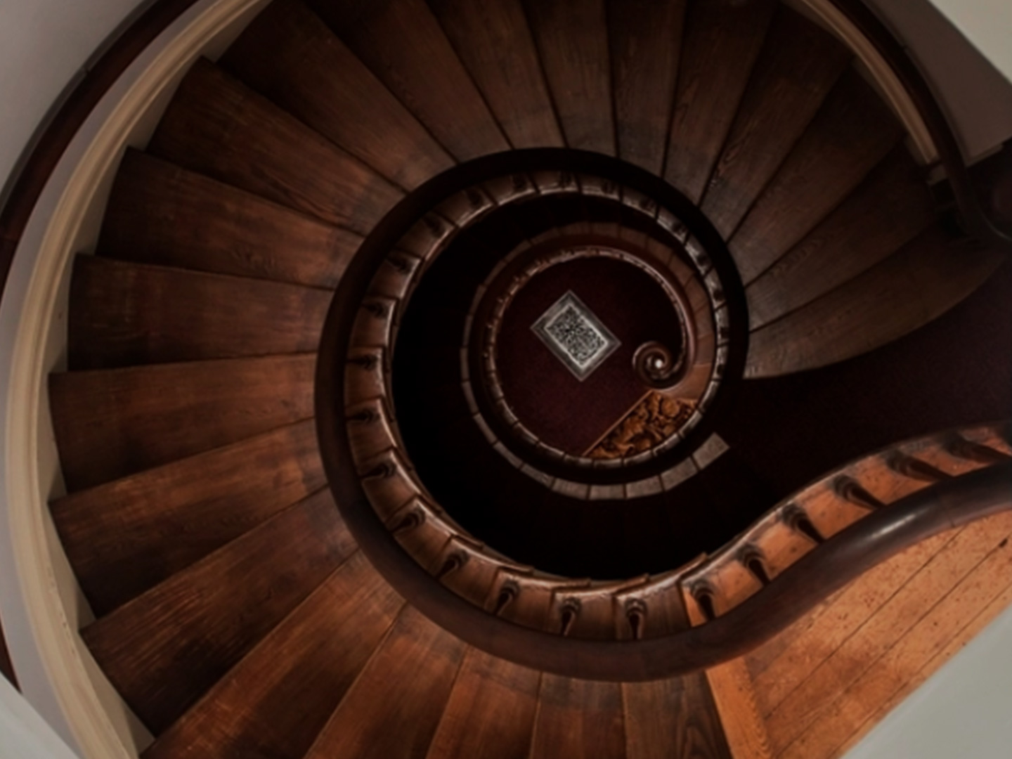 Spiral Staircase at Lanier Mansion