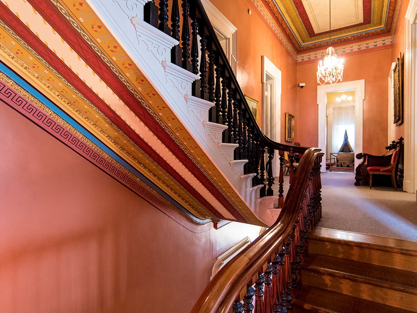 Culbertson Mansion Stairs