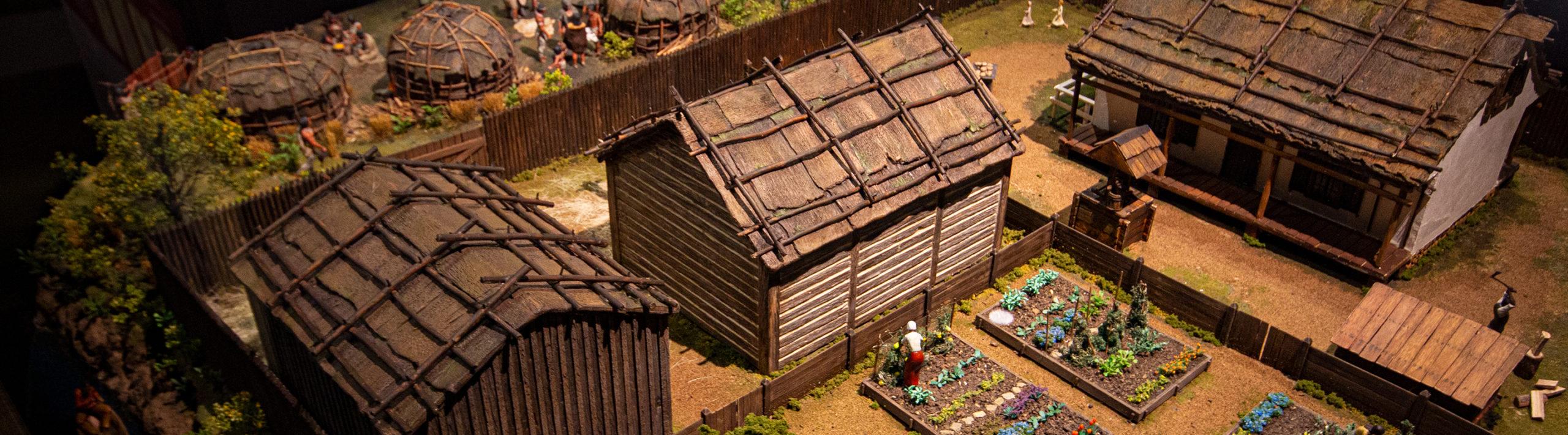 Village Diorama