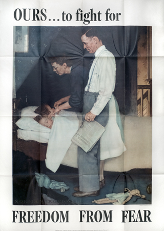 One of the Four Freedoms Poster