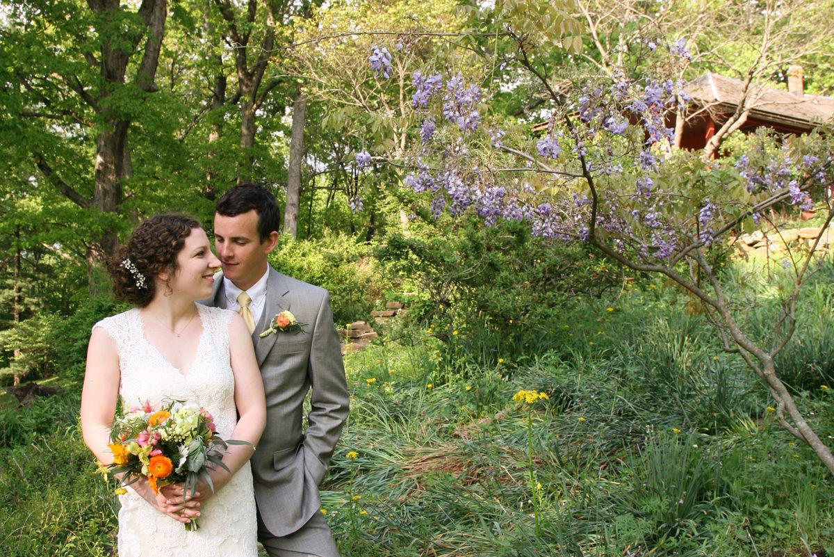 Wedding at T.C. Steele