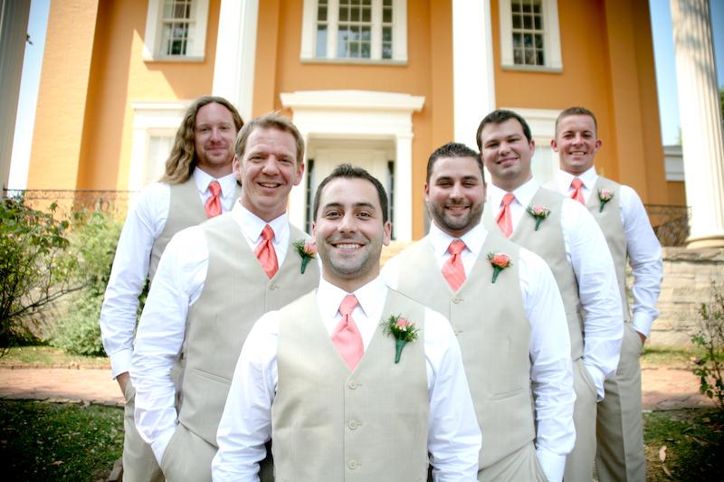 Wedding Photos at Lanier Mansion