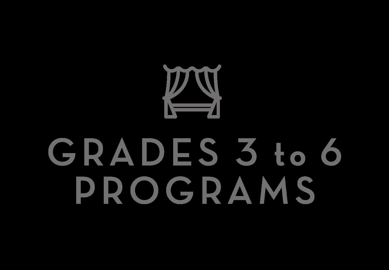 3 - 6 Grade Programs