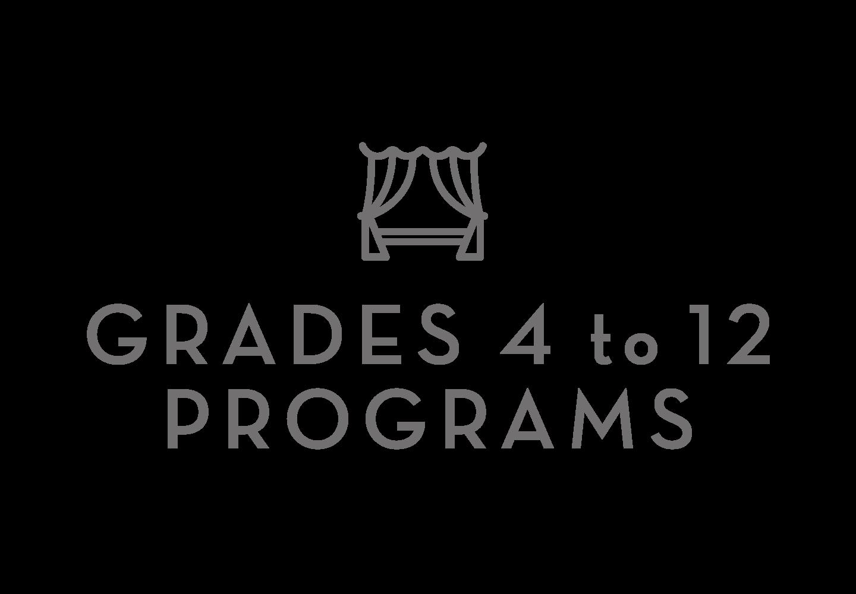 4 - 12 Grade Programs