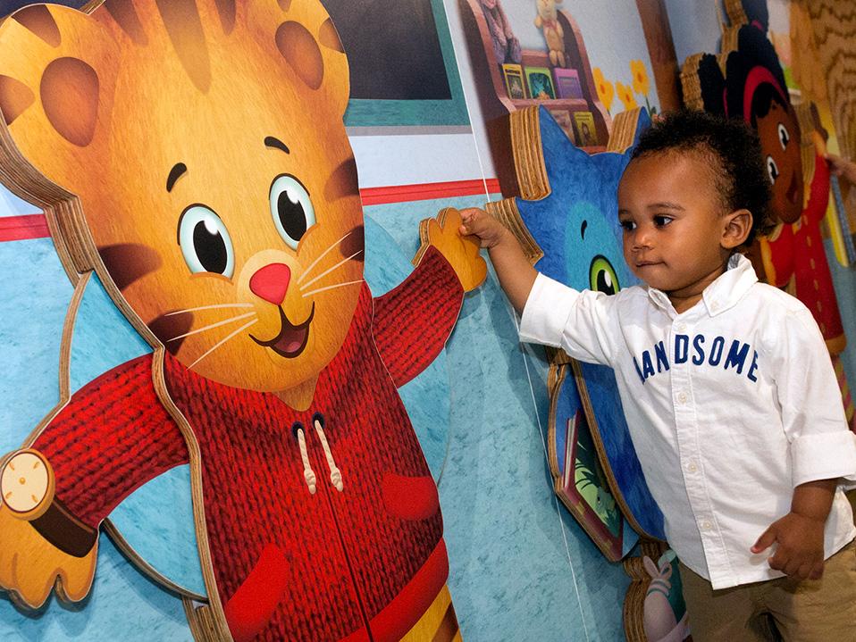 kid at Daniel Tiger