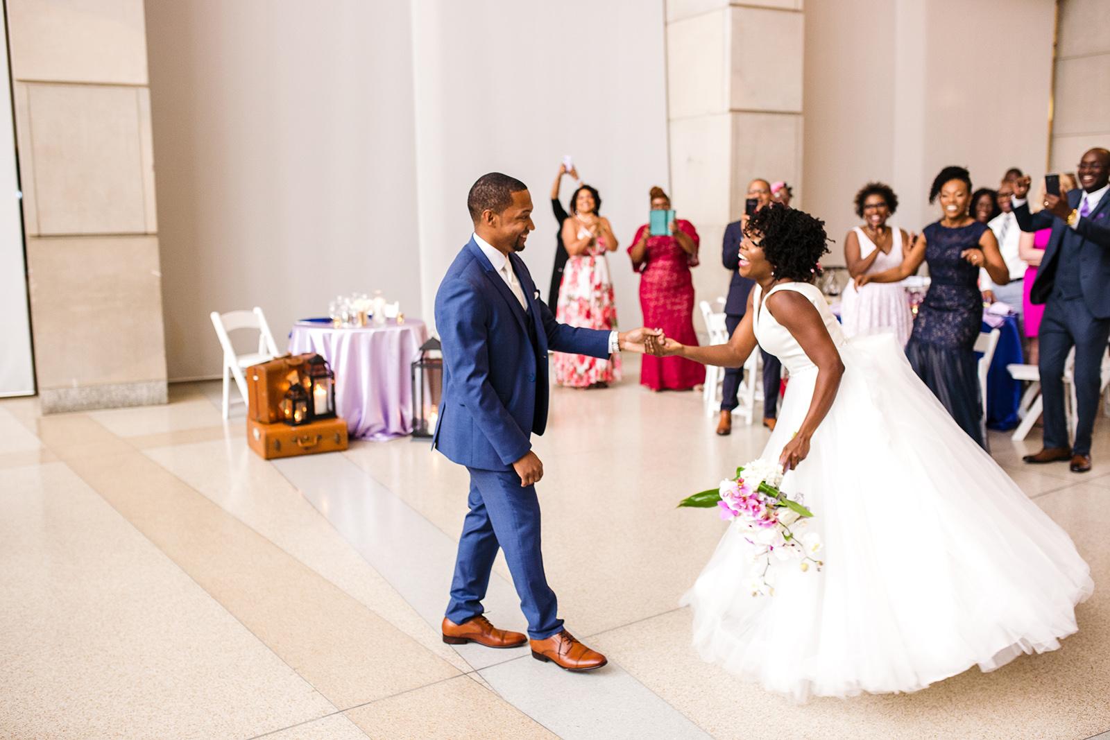 Wedding Reception in the Rapp Reception Hall