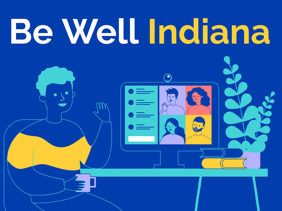 Be Well Indiana Graphic
