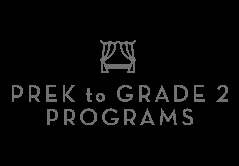 Pre K - 2 Grade Programs