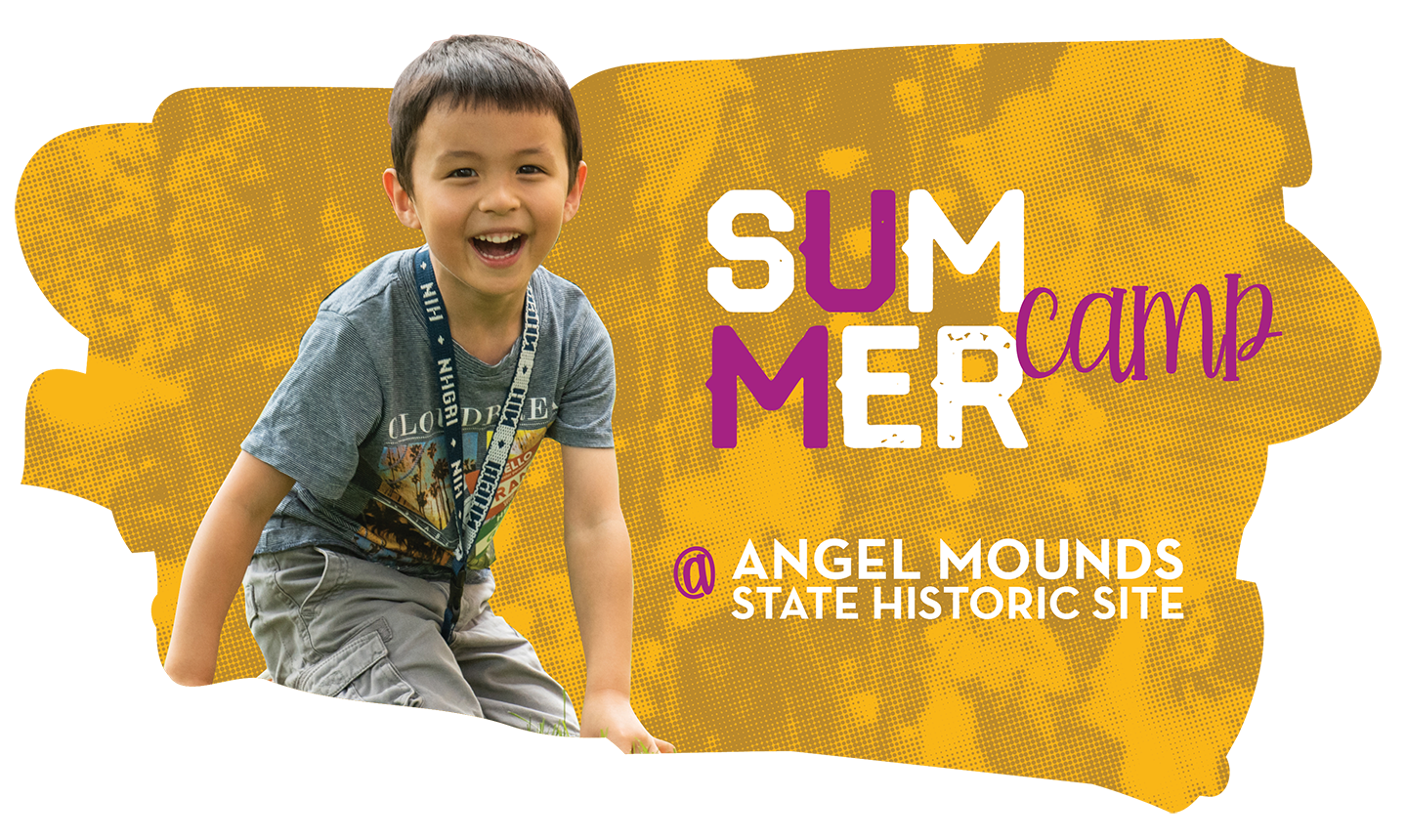 Summer camp at Angel Mounds State Historic Site