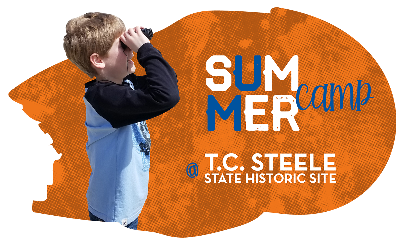 Summer camp at T.C. Steele State Historic Site