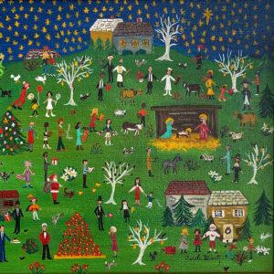 Christmas Millenia - They All Came..., Carole Wantz, 1980